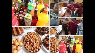 Nigerian family abroad and Christmas celebration