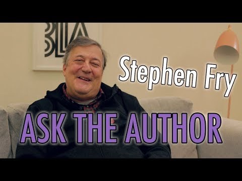 Stephen Fry #AsktheAuthor | Listening Books