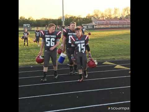 Westfall middle School football pictures 2017