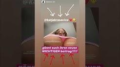 Katja zeigt UNDERBOOBS 🥵 Katja Krasavice Instagram Story