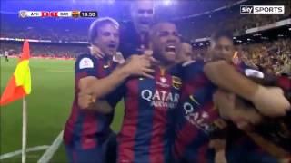 Messi-Espectacular gol al Ath.Bilbao(Relato emocionante de Jorge Ramos ESPN)