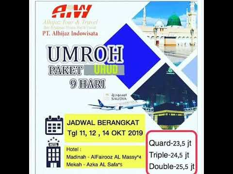 Paket Umroh Oktober 2018 - CALL 081294117544.