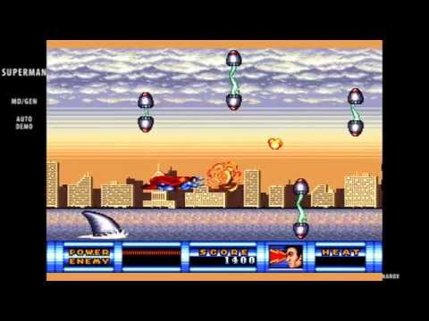 Superman / auto demo / Sega Mega Drive Genesis 1992