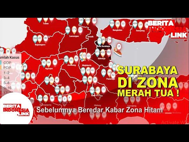 Kota Surabaya Dalam Zona Berganti Warna