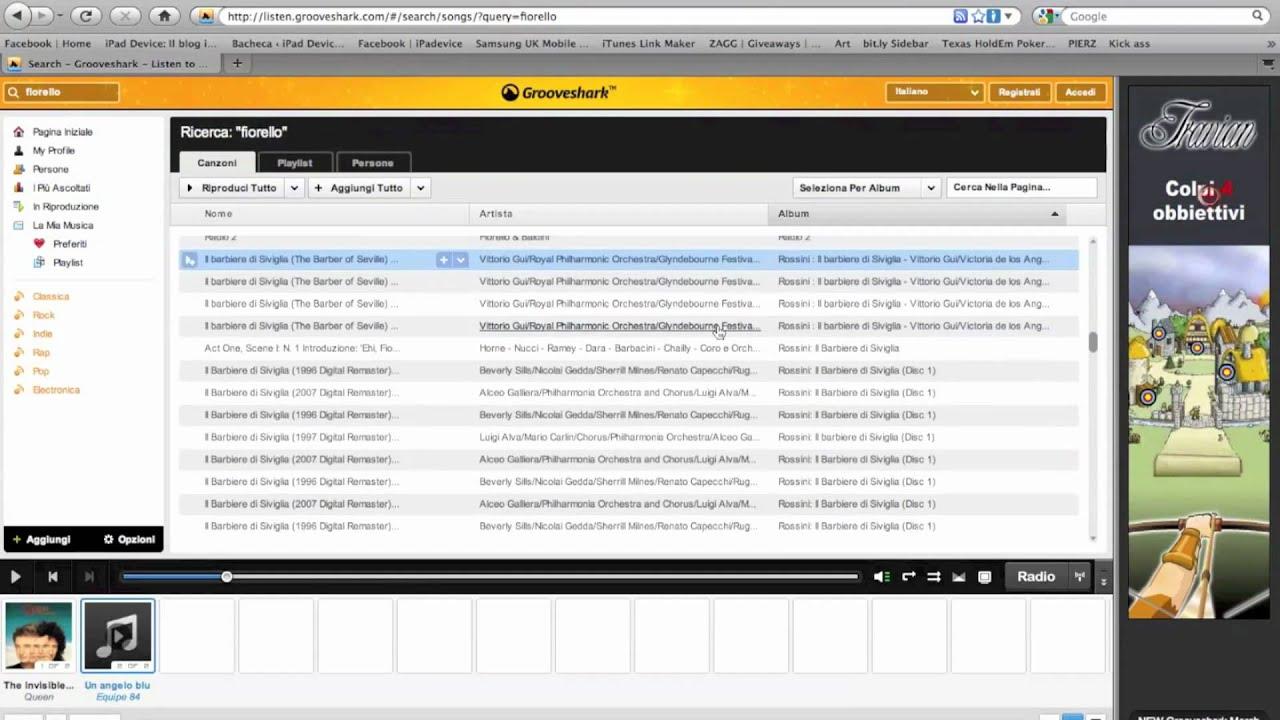 musica mp3 gratis in 2 secondi senza installare nessun programma