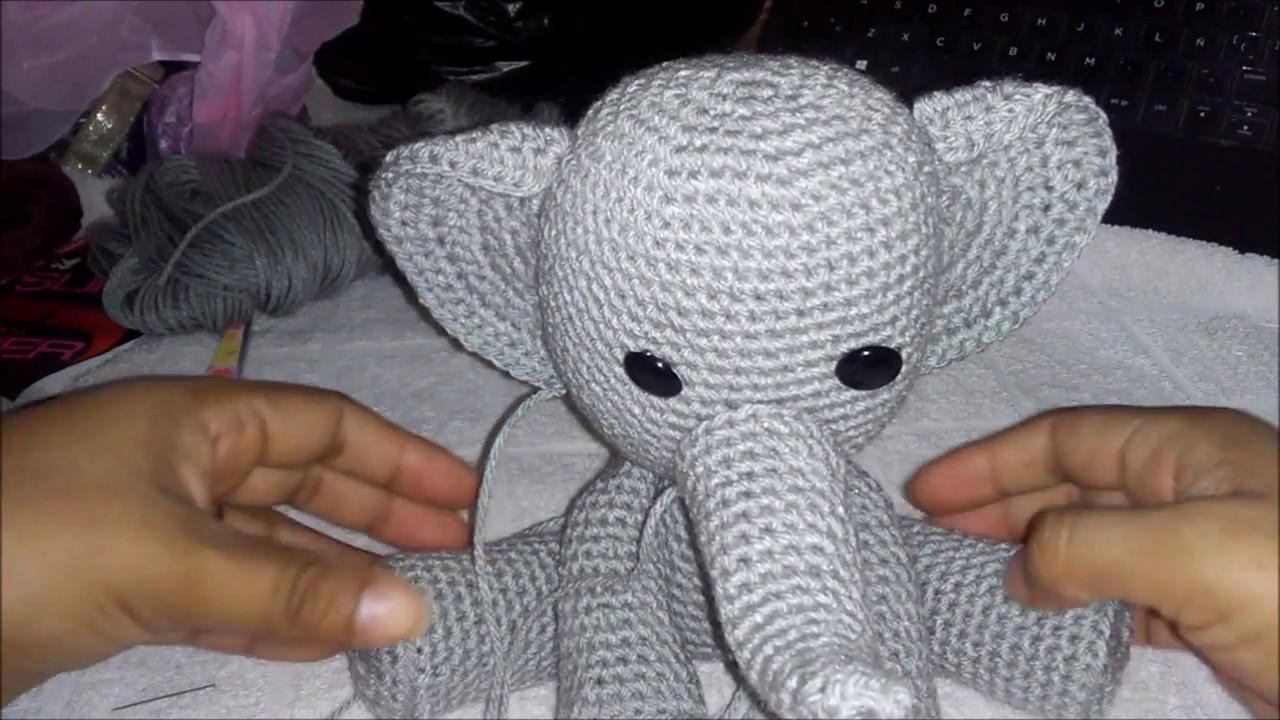 elefante de la india! amigurumi patron gratis | Amigurumi patrones ... | 720x1280