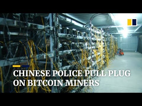 Chinese police seize bitcoin-mining computers that illegally tapped electricity
