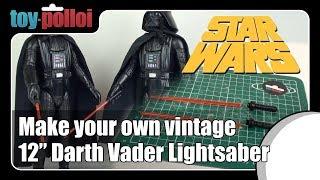 Vintage Star Wars Custom Replacement Darth Vader Light Saber