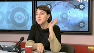 «Скотина тупая!»: Веллер бросил микрофон и кружку в ведущую «Эха Москвы»