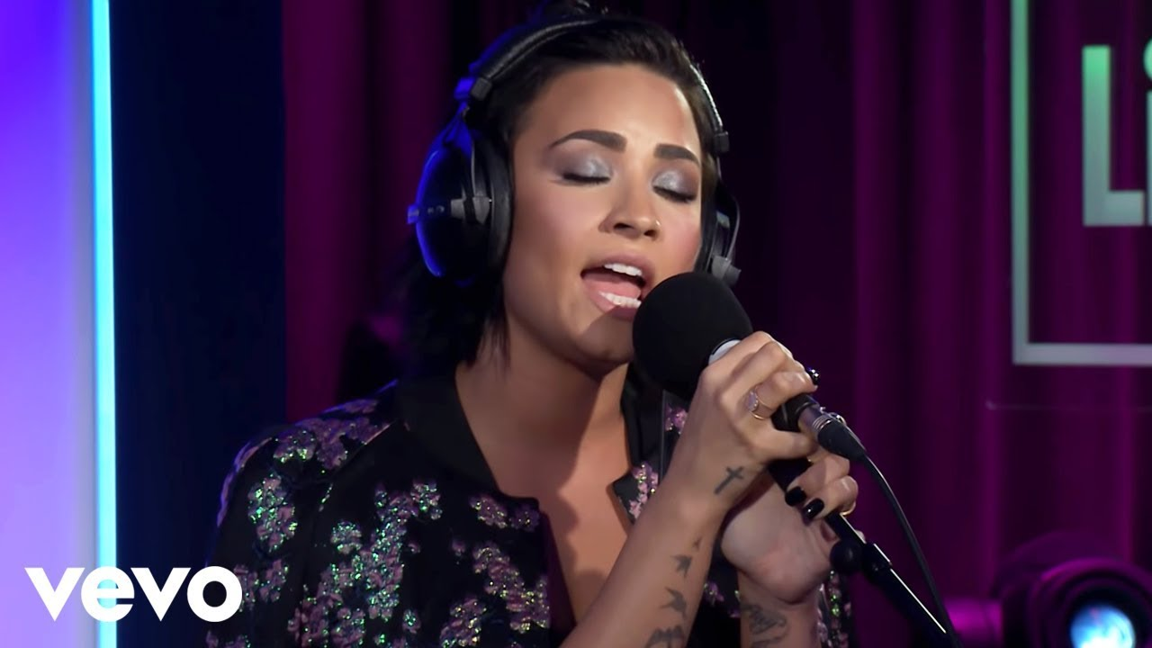 Demi Lovato - Take Me To Church (Hozier cover in the Live Lounge) #1