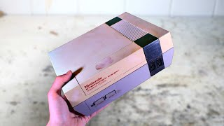 Yellowed Nintendo NES restoration and repair. What's inside this one?