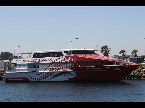 Ferry To Rottnest Island With Swan River Cruise, Perth, Western Australia 19 November 2016