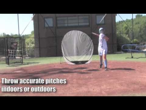 UPM55 - Louisville Slugger Red Fire Softball Pitching Machine