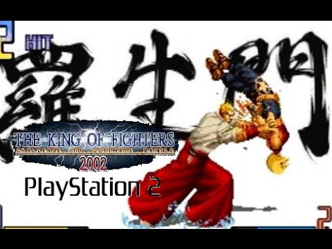 The King Of Fighters 2002 Playthrough Ps2 Youtube