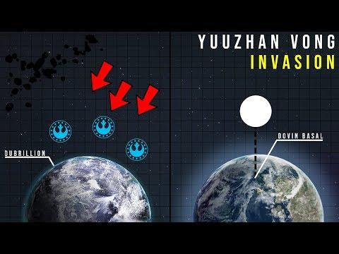The YUUZHAN VONG'S Devastating First Assault | Star Wars Battle Breakdown