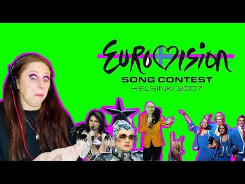 WAS EUROVISION 2007 THE CRAZIEST?