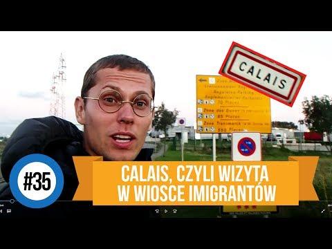 Autostopem i hulajnogą z Podlasia do Chin - Calais, czyli wizyta w wiosce imigrantów