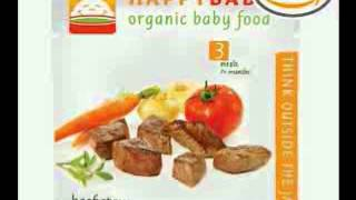 Happy Baby Organic Baby Food 3 Homestyle Meals, Beef Stew, 4-Ounce Pouches (Pack of 16)