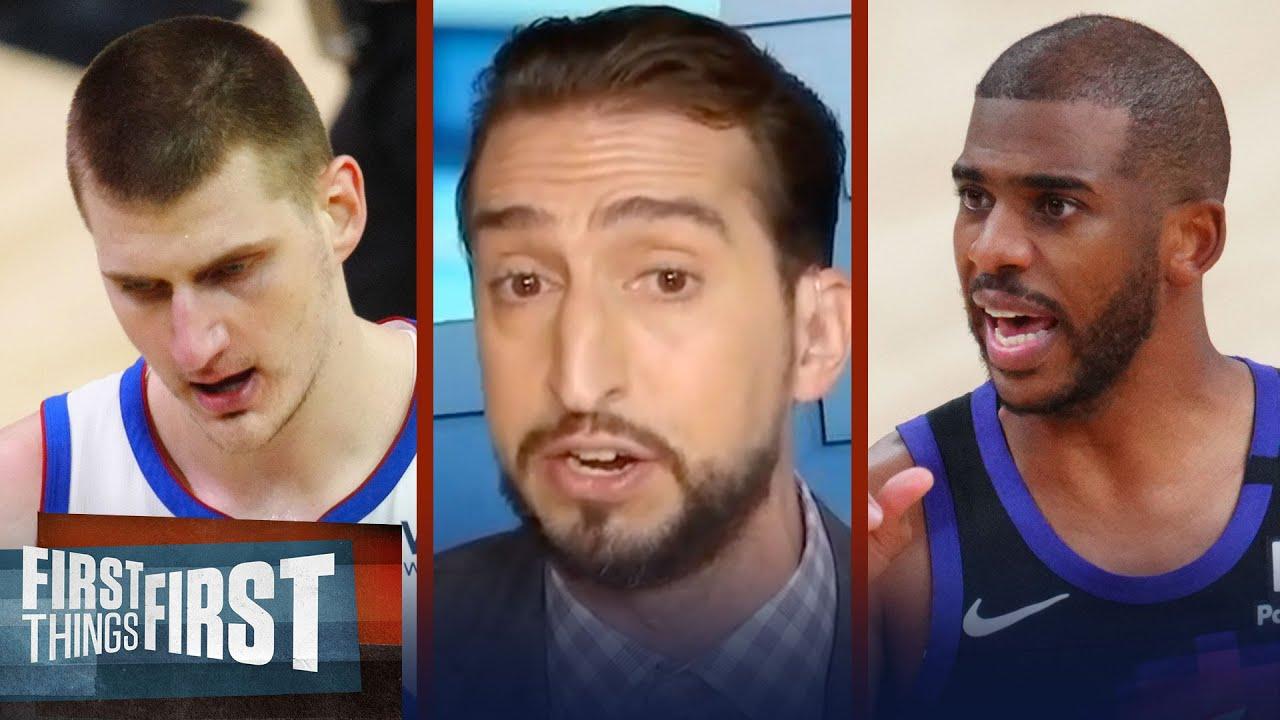 Chris Paul is the best player in this series, not MVP Nikola Jokić – Nick   NBA   FIRST THINGS FIRST