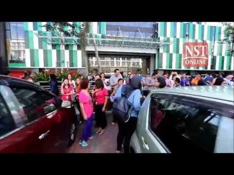 Quake measuring 7.3 triggers tremors in Kota Kinabalu, Sandakan