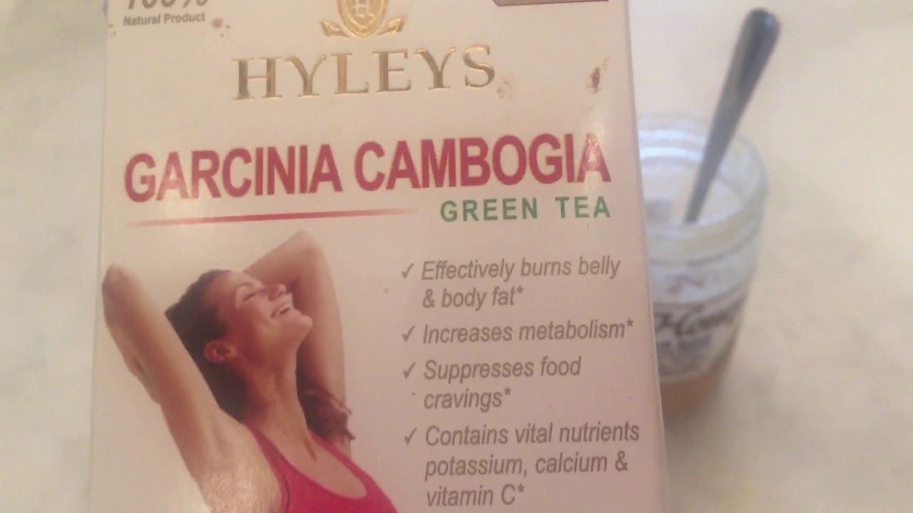 Hyleys Garcinia Cambogia Green Tea Cranberry Youtube