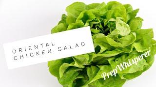 Oriental / Asian Chicken Salad - WW Friendly - Weight Watchers