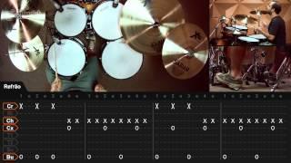 T.N.T. - AC/DC (aula de bateria)