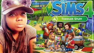 THE SIMS 4 | TODDLER STUFF PACK | REACTION VIDEO + GIVEAWAY [CLOSED]