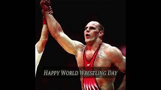 Happy World Wrestling Day #shorts #wresling #kusti_status