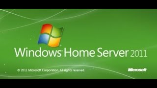 Building A Windows Home Server 2011: Installing and Initial Configuration