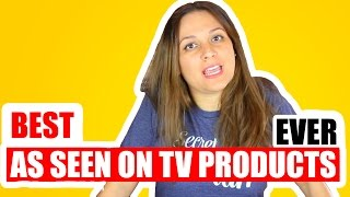 5 BEST AS SEEN ON TV PRODUCTS TESTED | VIVIAN TRIES