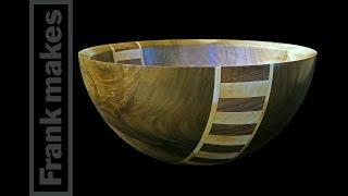 Woodturning A Walnut Bowl