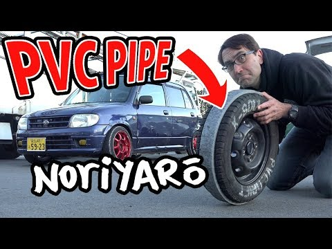 $300 drift car! PVC pipe drifting kei cars