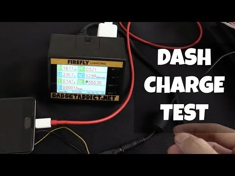 30 Minute DASH Charge Test OnePlus 3T