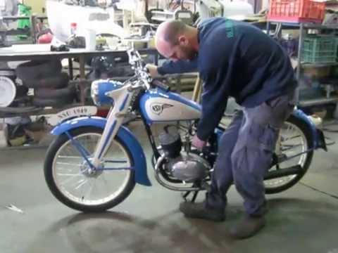 1949 NSU ZDB 125 - Restored!!