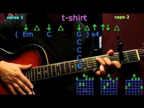 t-shirt thomas rhett guitar chords