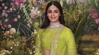New Couple Ranbir & Alia Bhatt At Sonam Kapoor's Grand Wedding Party   Sonam   Anand Wedding Party
