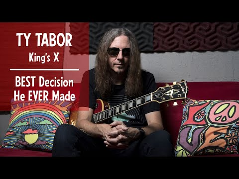 Ty Tabor Interview, King's X: The REAL truth on why he was so secretive about his tone
