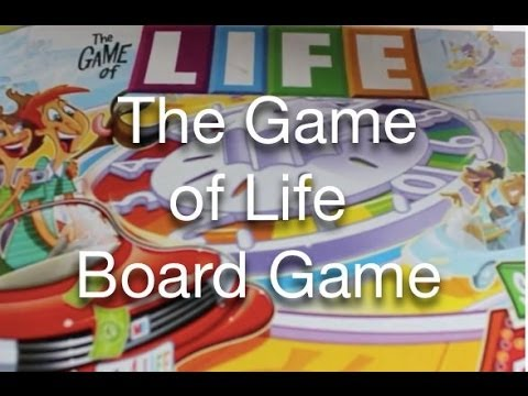 The Game Of Life Board Game Youtube