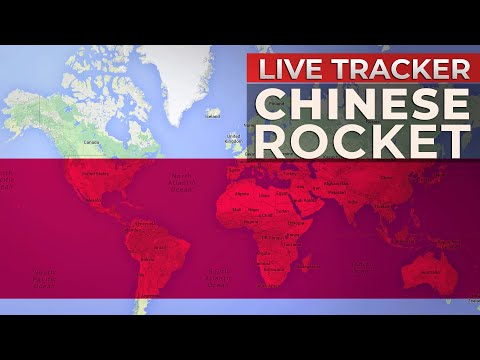 Chinese Rocket Expected to Crash Into Earth | Real-time Tracker