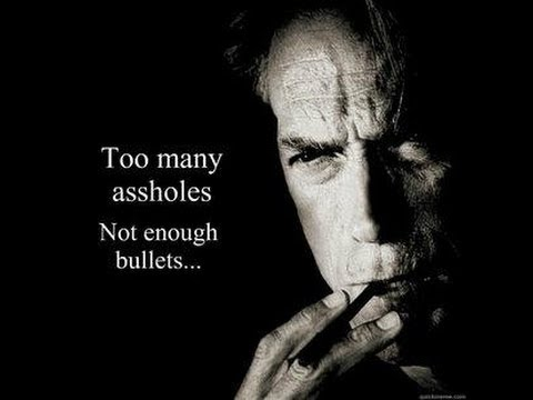 Clint Eastwood Movie Quotes Classy Clint Eastwood Quotes YouTube