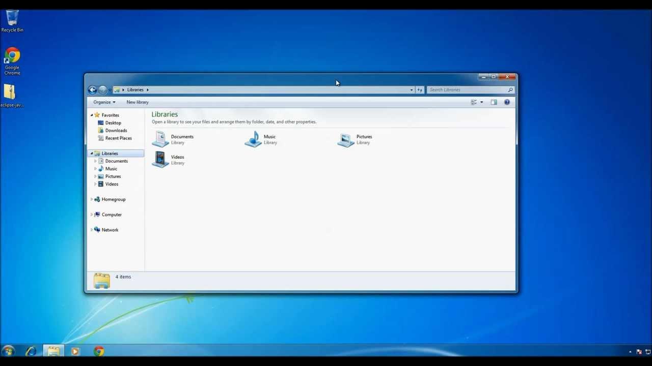 Taking a screenshot with Windows 7 using keyboard - YouTube