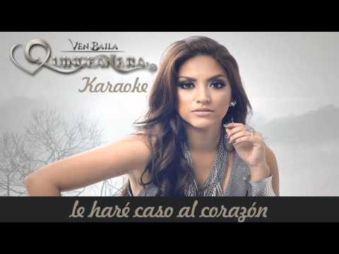 Karaoke Nicole Pillman - Ven Baila Quinceañera