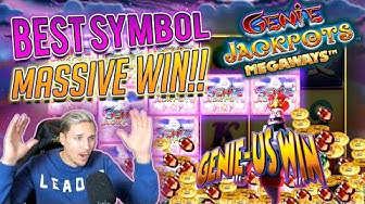 Genie Jackpots BIG WIN - Huge win with BEST SYMBOL - Online Casino