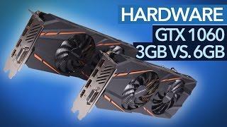 GTX 1060 3GB vs. GTX 1060 6GB - Reichen 3,0 GByte VRAM aus?