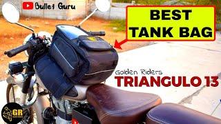 BEST Tank Bag TRIANGULO 13 (Multi Bag) || Golden Riders