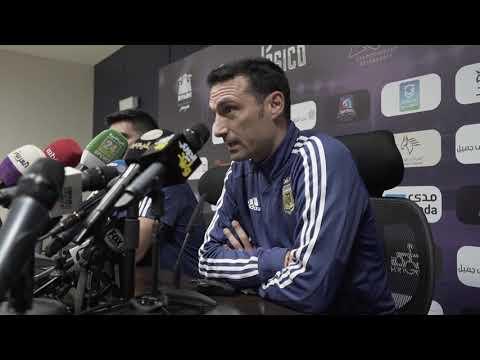 #SelecciónMayor Las palabras de Lionel Scaloni antes de enfrenar a Brasil
