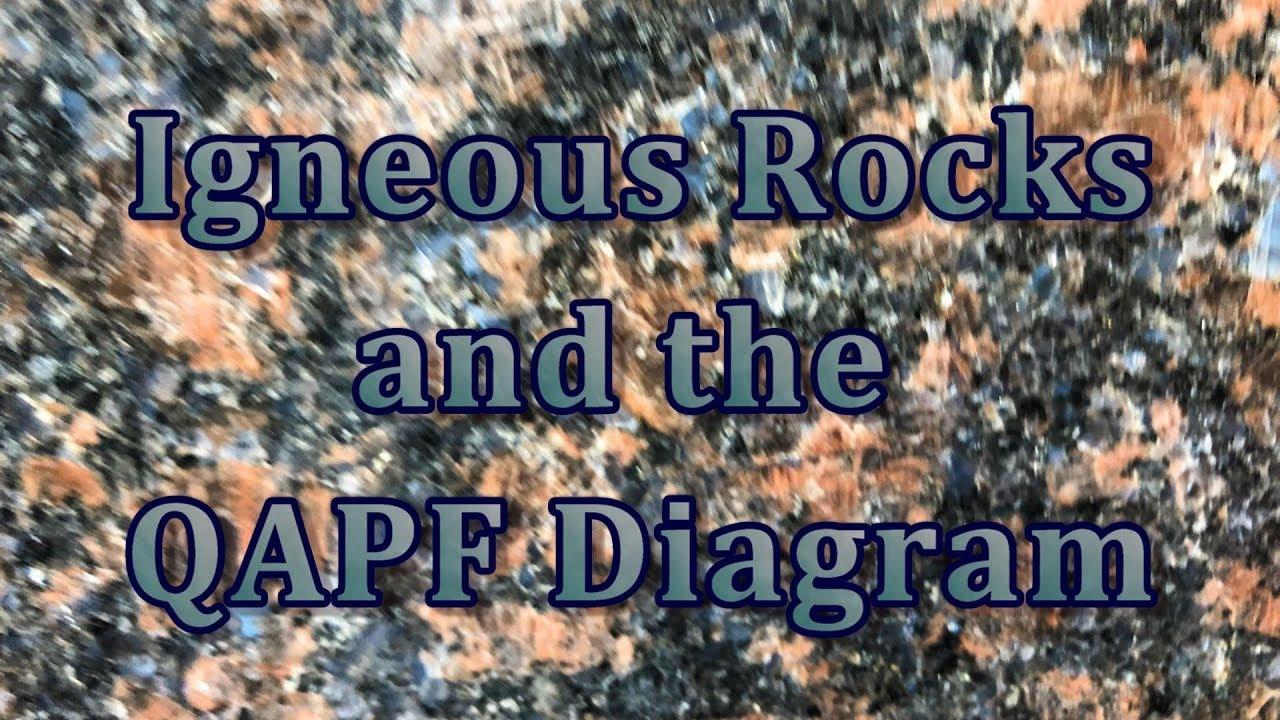 Igneous Rocks And The Qapf Diagram E6 S2 Youtube