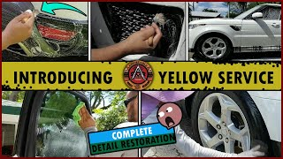 Complete Detailing Restoration | INTRODUCING YELLOW SERVICE