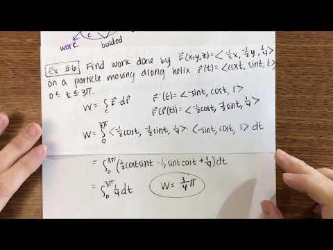 16.2: Line Integrals (2/2)